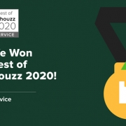 We Won Best Customer Service Houzz 2020