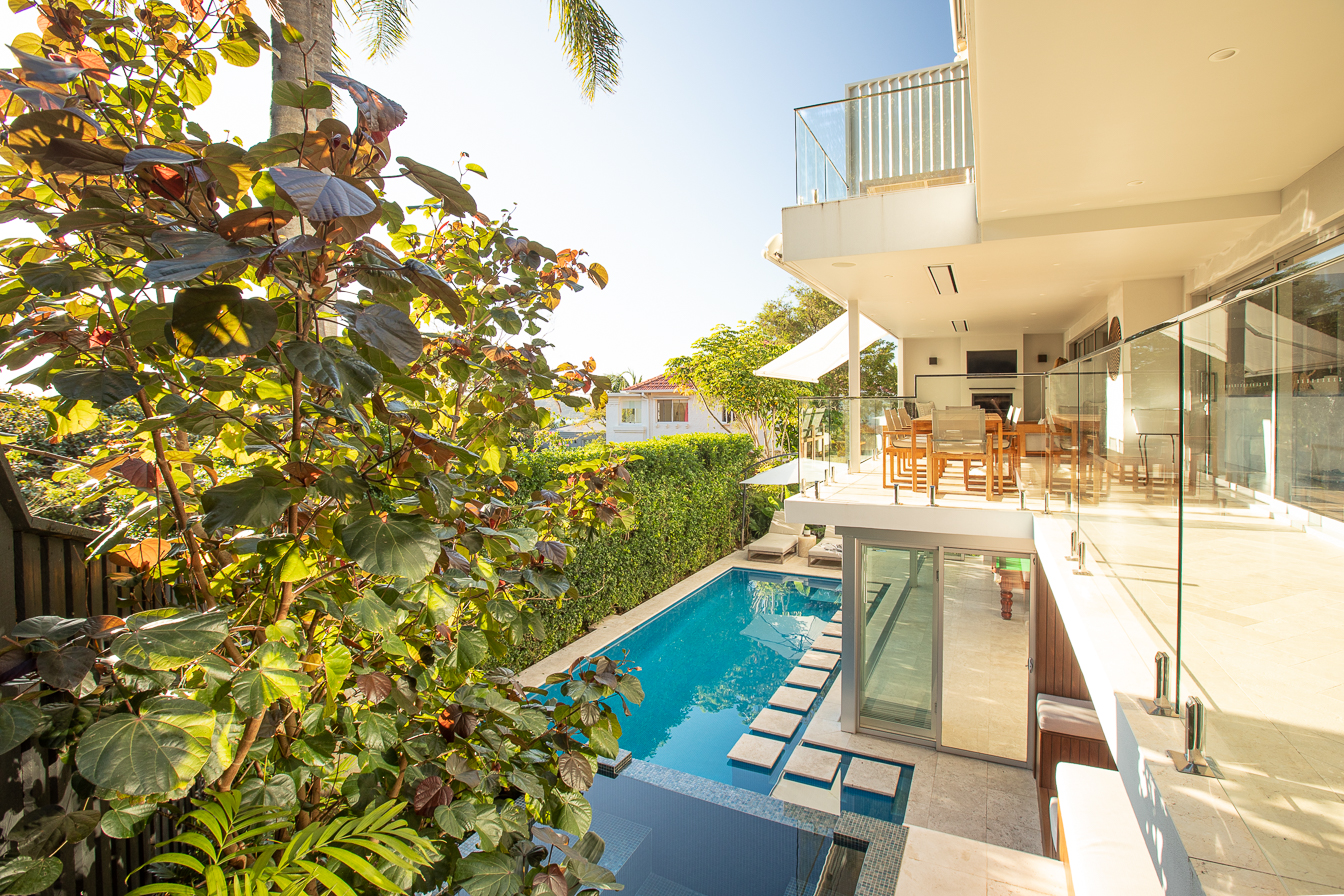 pool and landscaping in eastern suburbs of Sydney